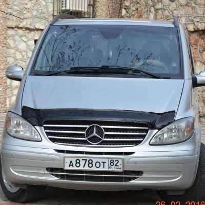 Mercedes Vito Bonnet Protector